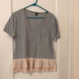 Jcrew mixed top